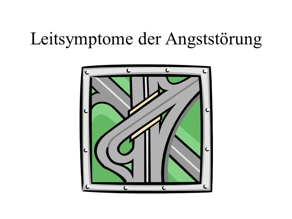 Leitsymptome der Angststörung