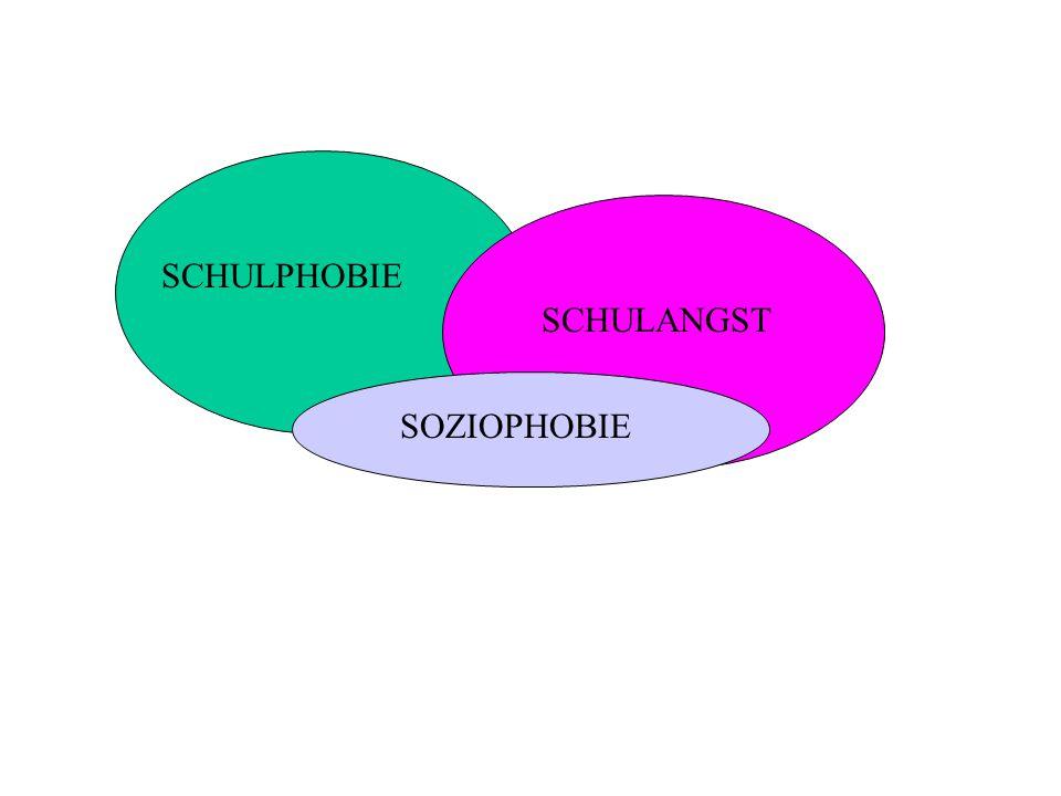 SCHULPHOBIE SCHULANGST SOZIOPHOBIE