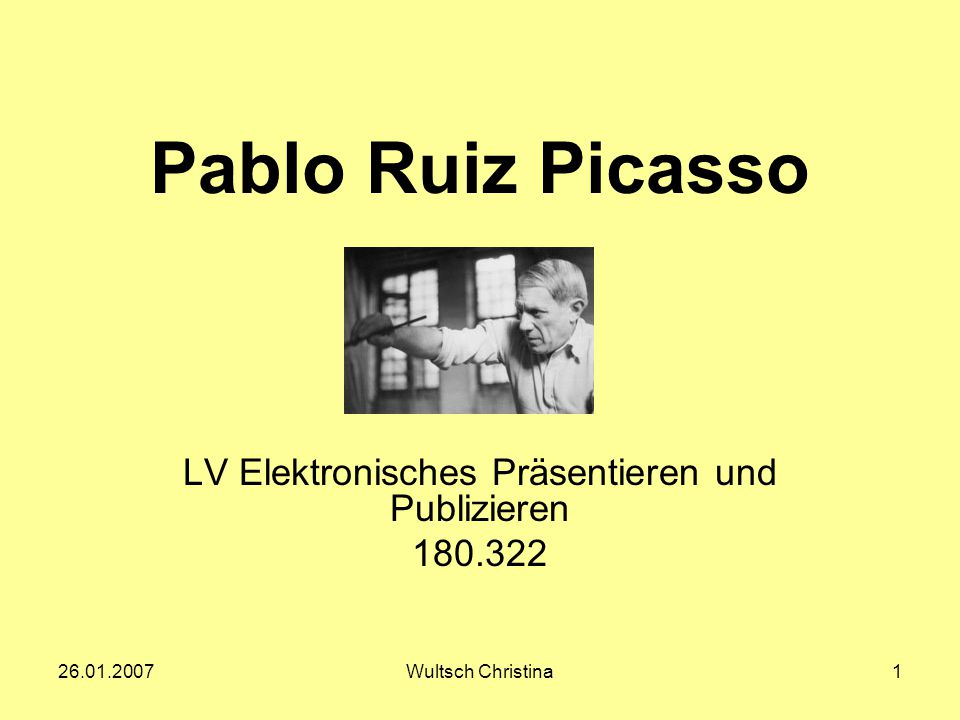 LV Elektronisches Präsentieren und Publizieren 180.322