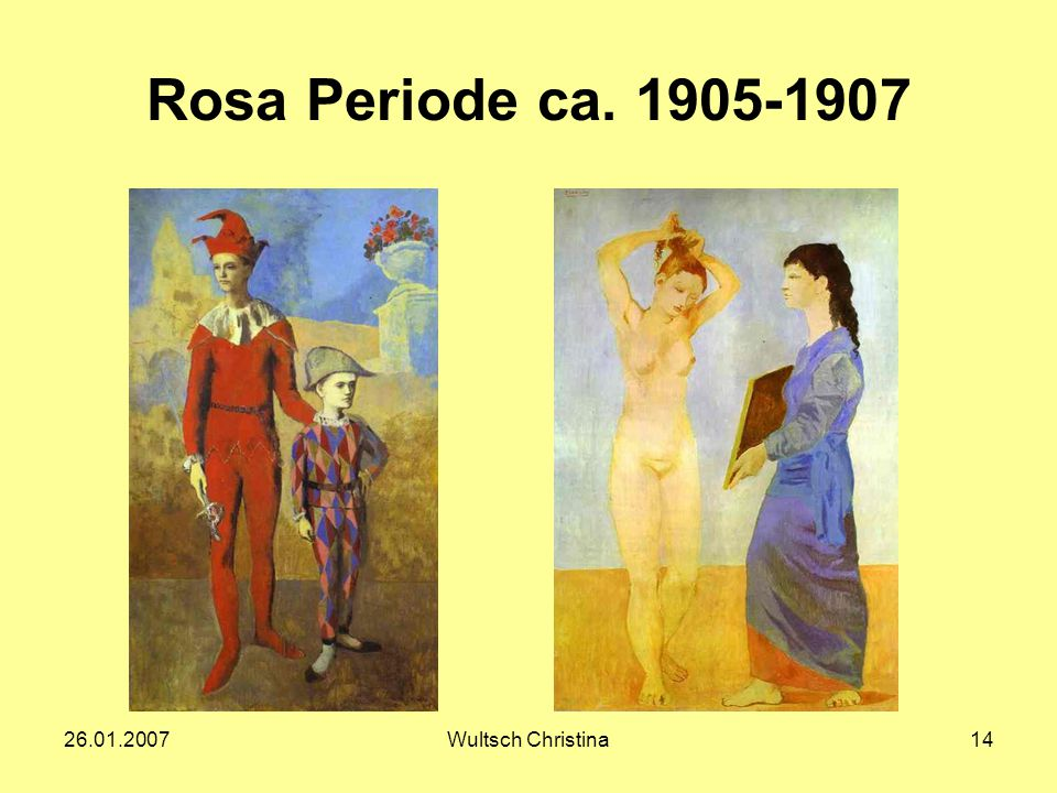 Rosa Periode ca. 1905-1907 26.01.2007 Wultsch Christina