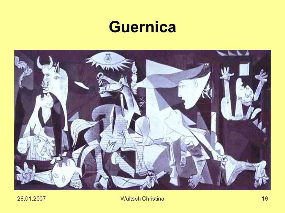 Guernica 26.01.2007 Wultsch Christina