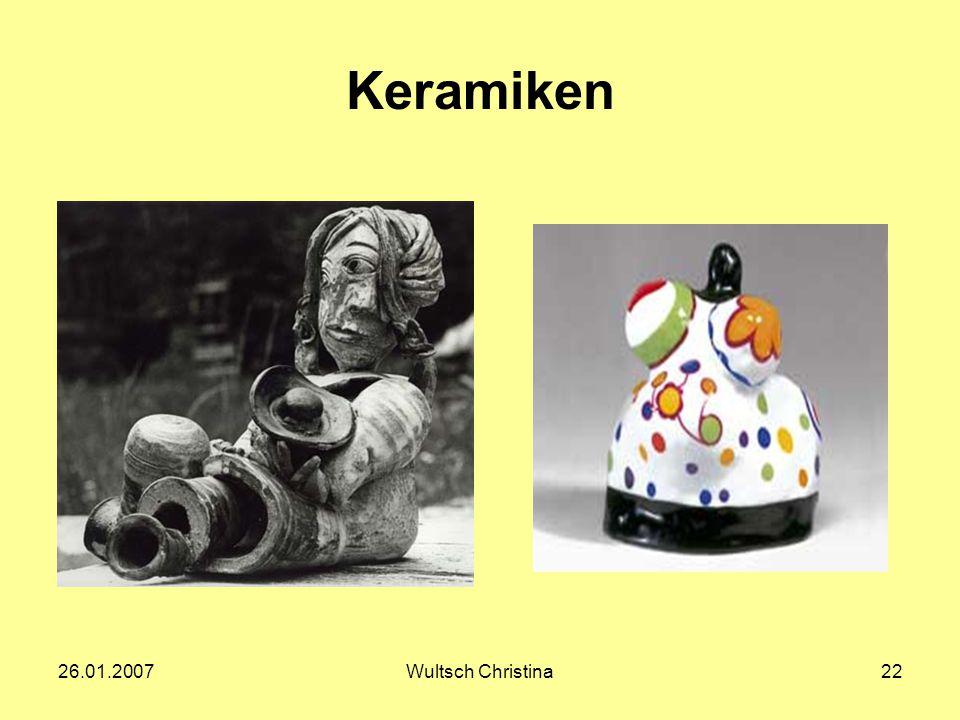 Keramiken 26.01.2007 Wultsch Christina