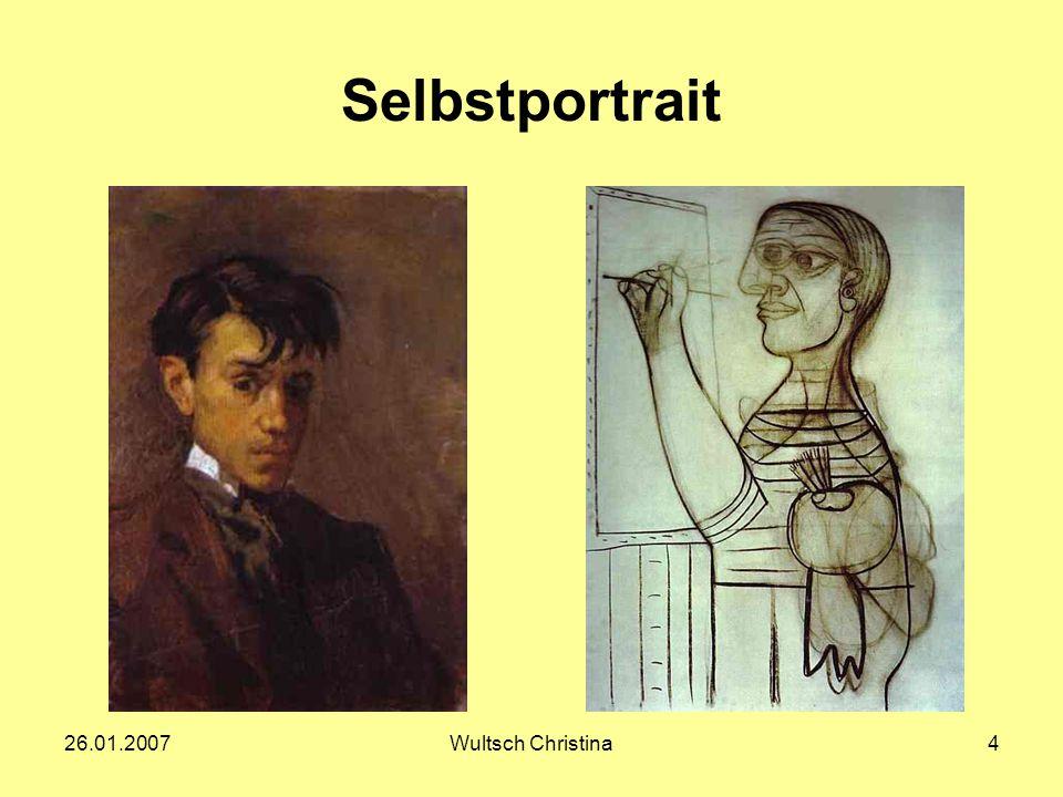 Selbstportrait 26.01.2007 Wultsch Christina