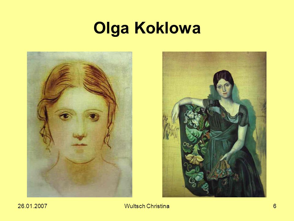 Olga Koklowa 26.01.2007 Wultsch Christina