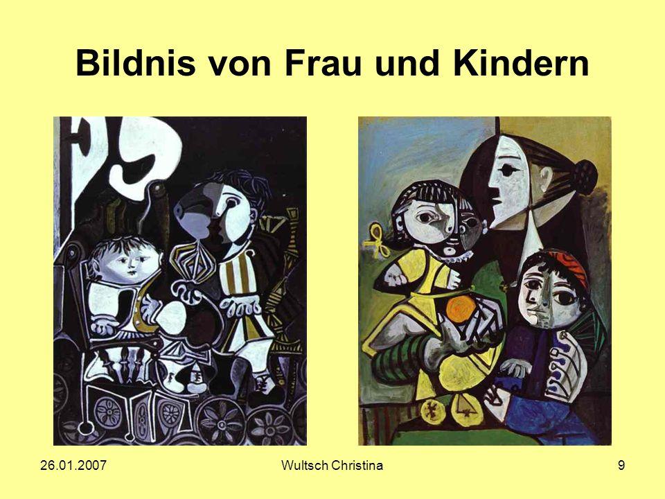 Bildnis von Frau und Kindern