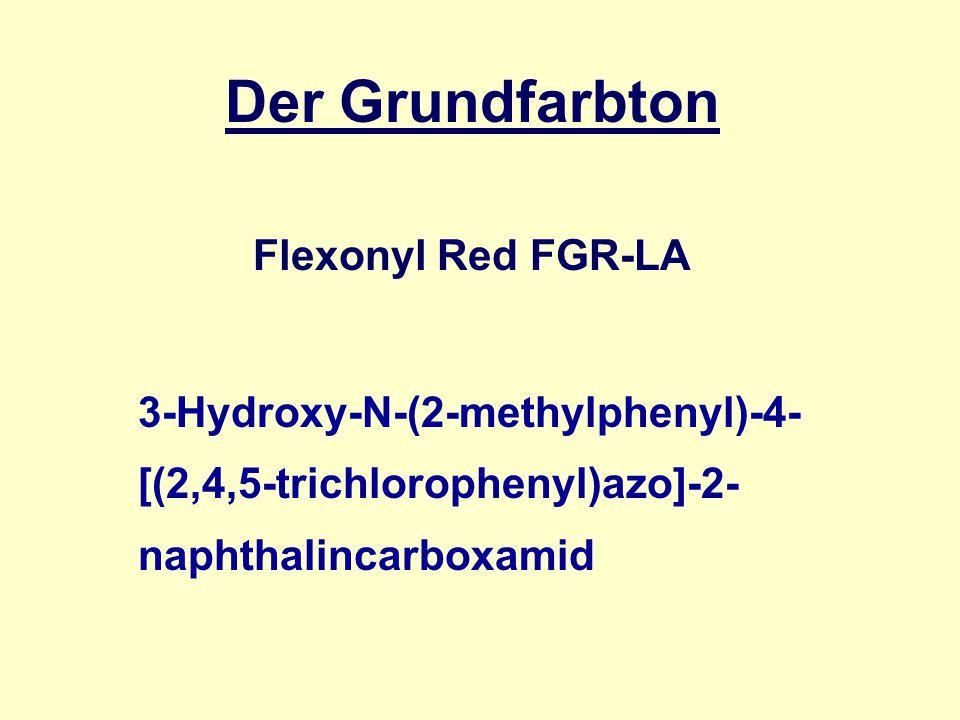 Der Grundfarbton Flexonyl Red FGR-LA