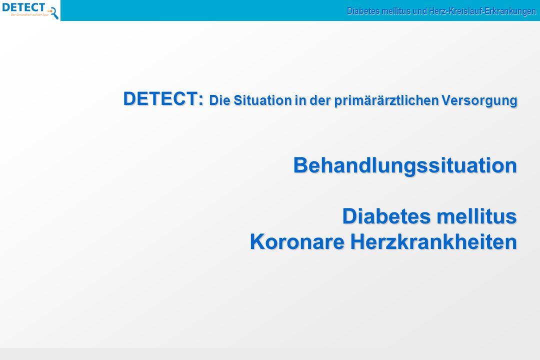Diabetes mellitus und Herz-Kreislauf-Erkrankungen
