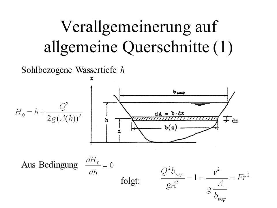 Verallgemeinerung auf allgemeine Querschnitte (1)