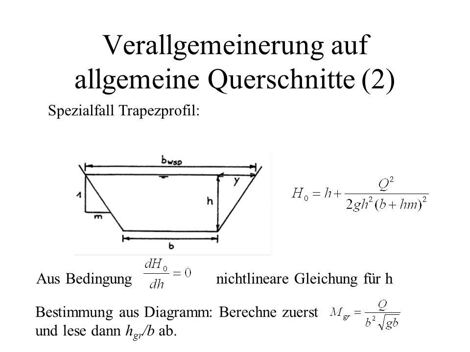 Verallgemeinerung auf allgemeine Querschnitte (2)