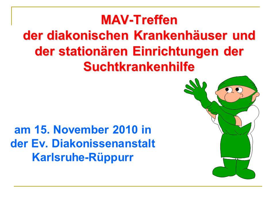 am 15. November 2010 in der Ev. Diakonissenanstalt Karlsruhe-Rüppurr