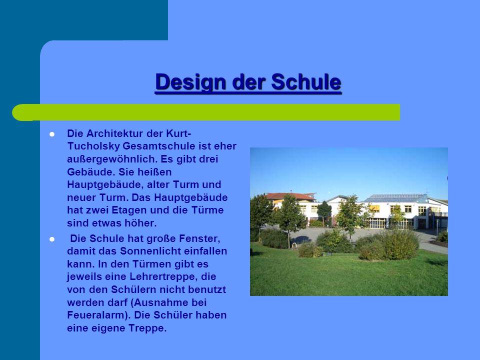 Design der Schule