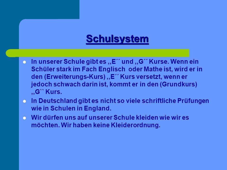 Schulsystem