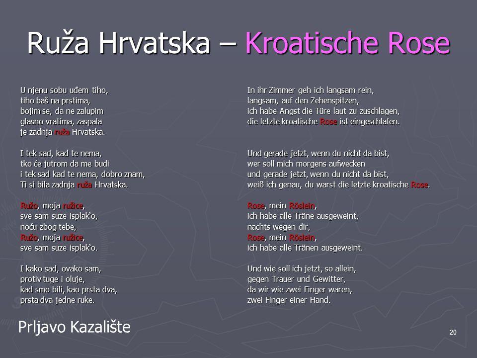 Ruža Hrvatska – Kroatische Rose