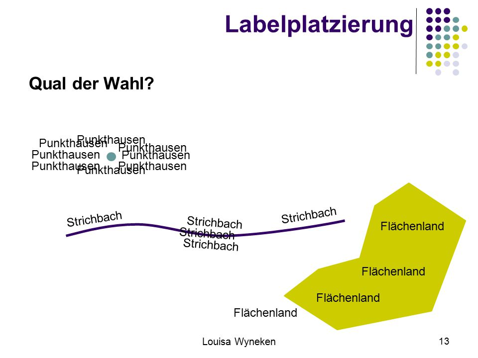 Labelplatzierung Qual der Wahl Punkthausen Punkthausen Punkthausen