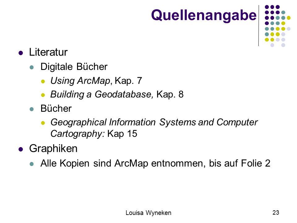 Quellenangabe Literatur Graphiken Digitale Bücher Bücher