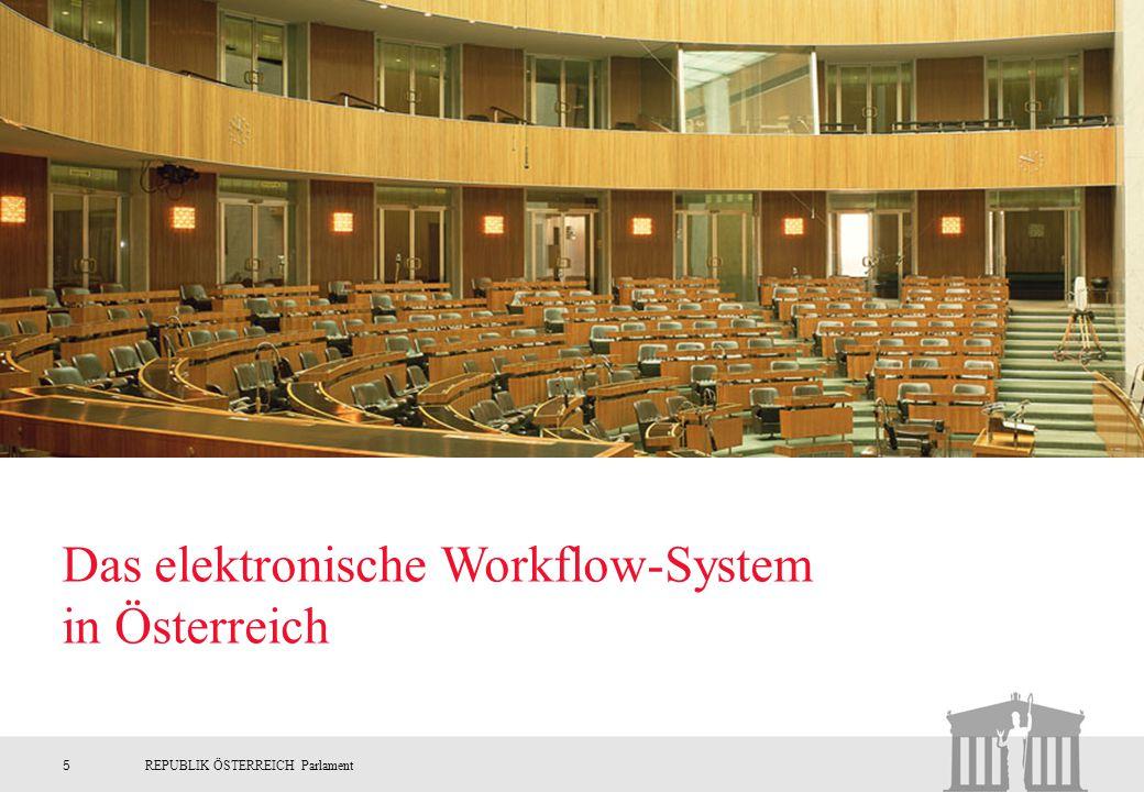 Das elektronische Workflow-System in Österreich