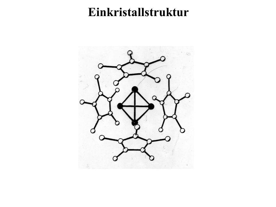 Einkristallstruktur