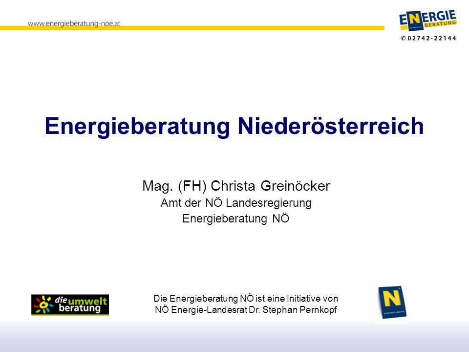 Energieberatung Niederösterreich