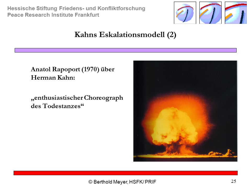 Kahns Eskalationsmodell (2)