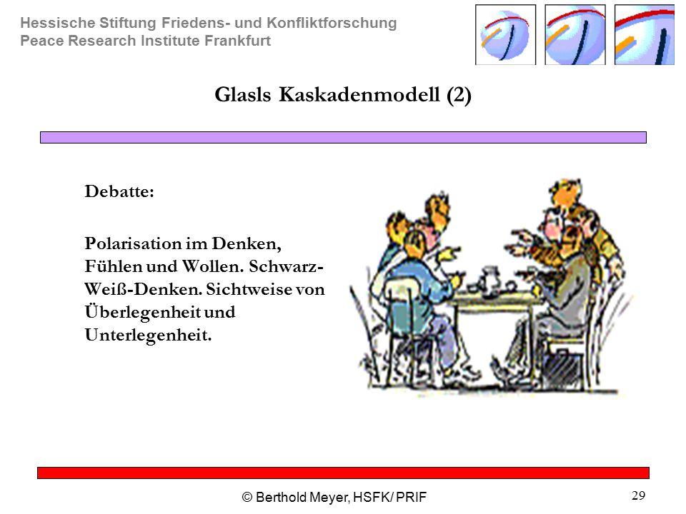 Glasls Kaskadenmodell (2)