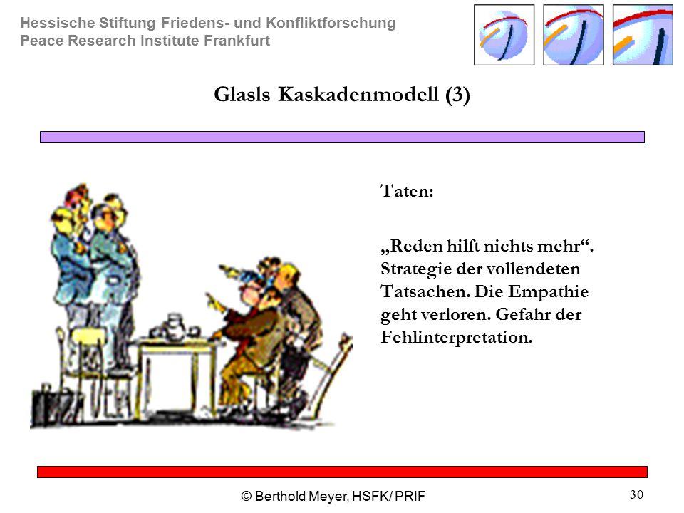 Glasls Kaskadenmodell (3)