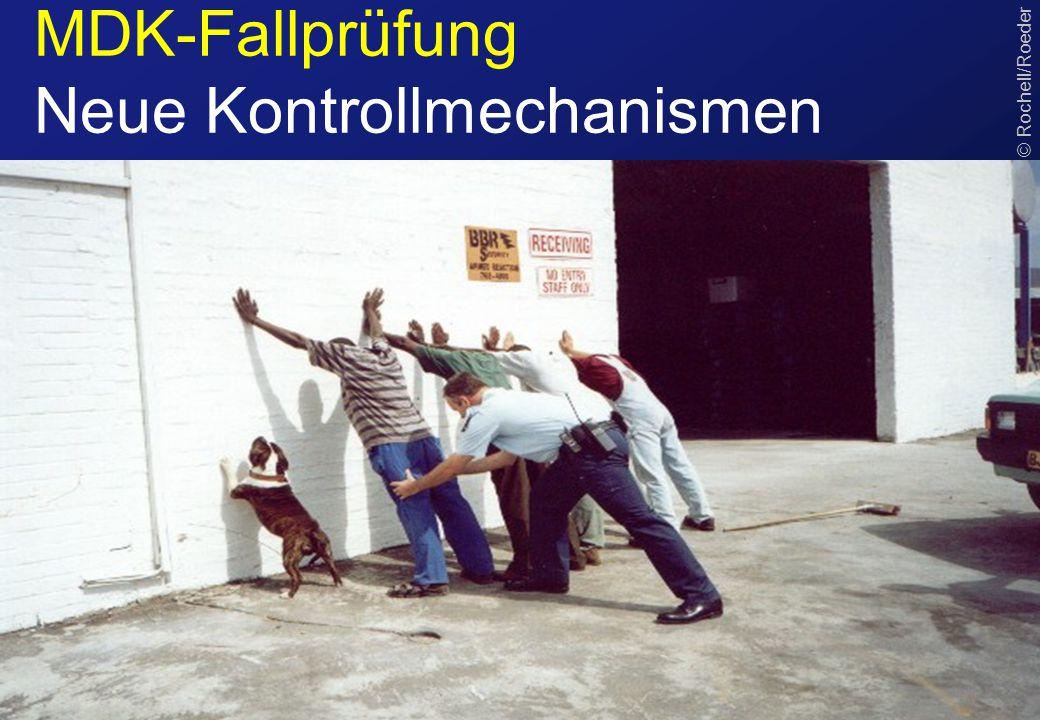 MDK-Fallprüfung Neue Kontrollmechanismen