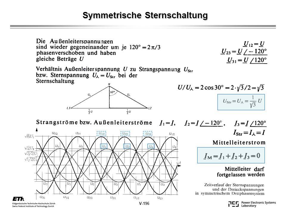 Symmetrische Sternschaltung