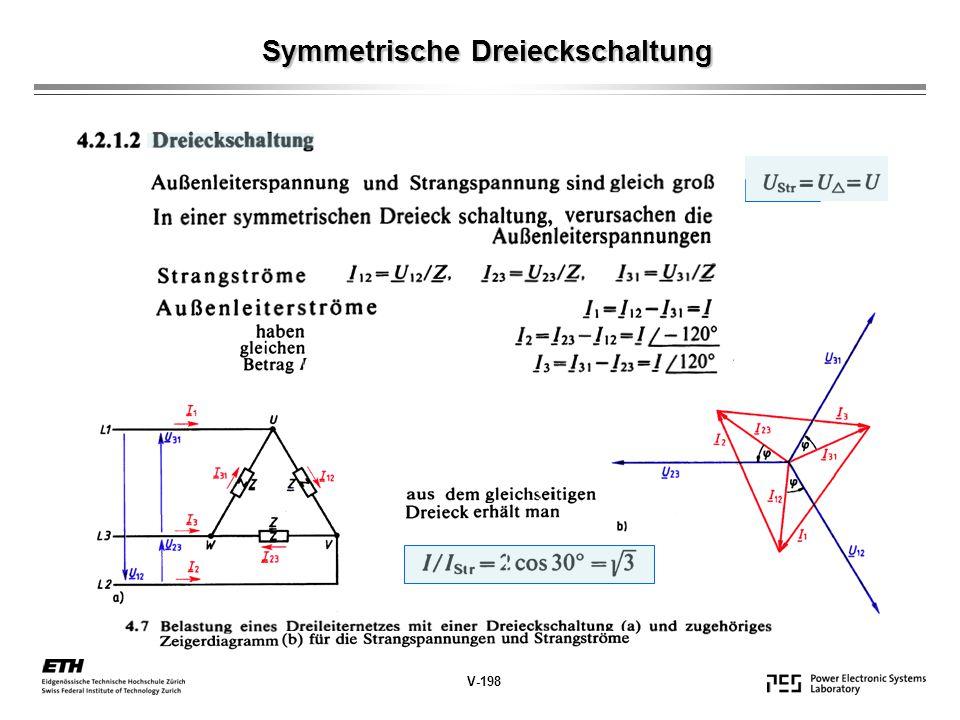 Symmetrische Dreieckschaltung