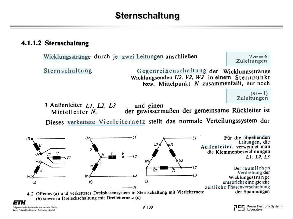 Sternschaltung V-189