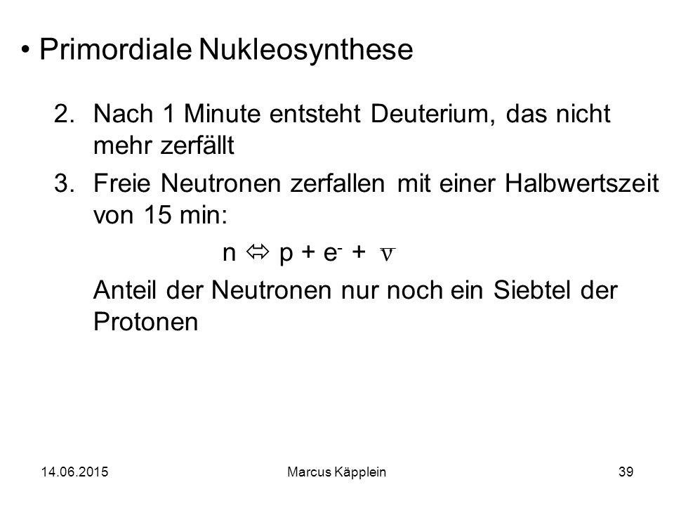 Primordiale Nukleosynthese