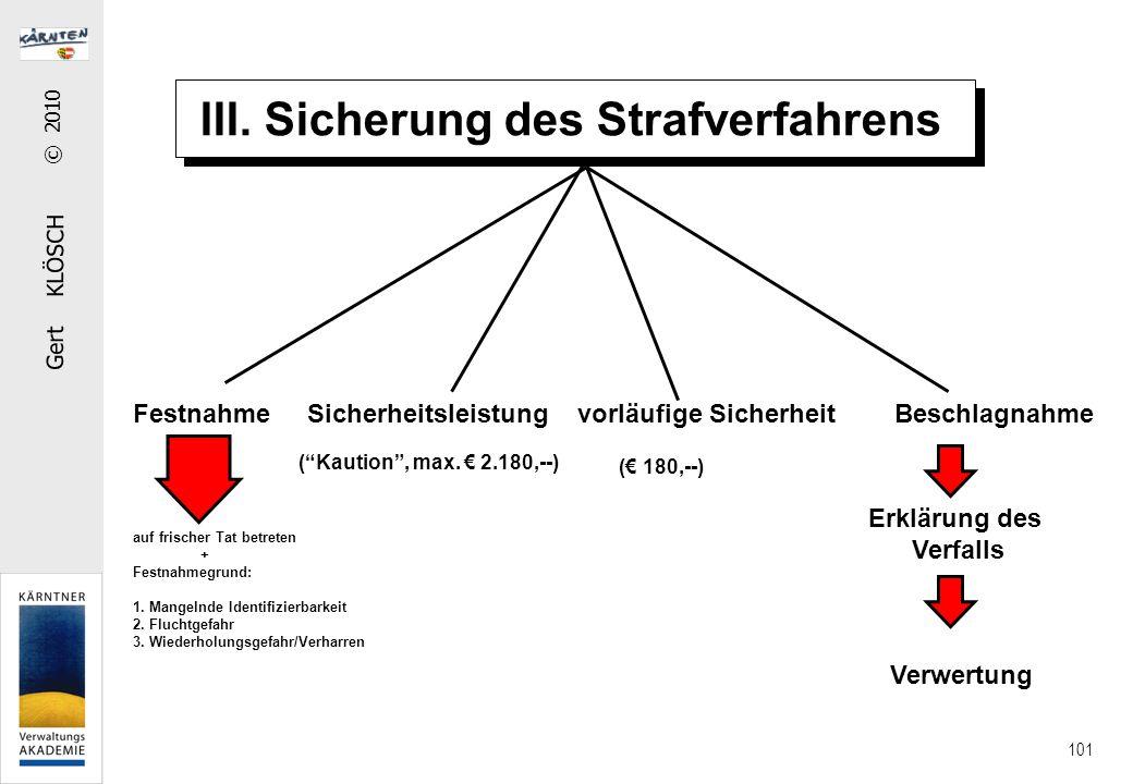 IV. Die Verjährung Verfolgungsverjährung Strafbarkeitsverjährung