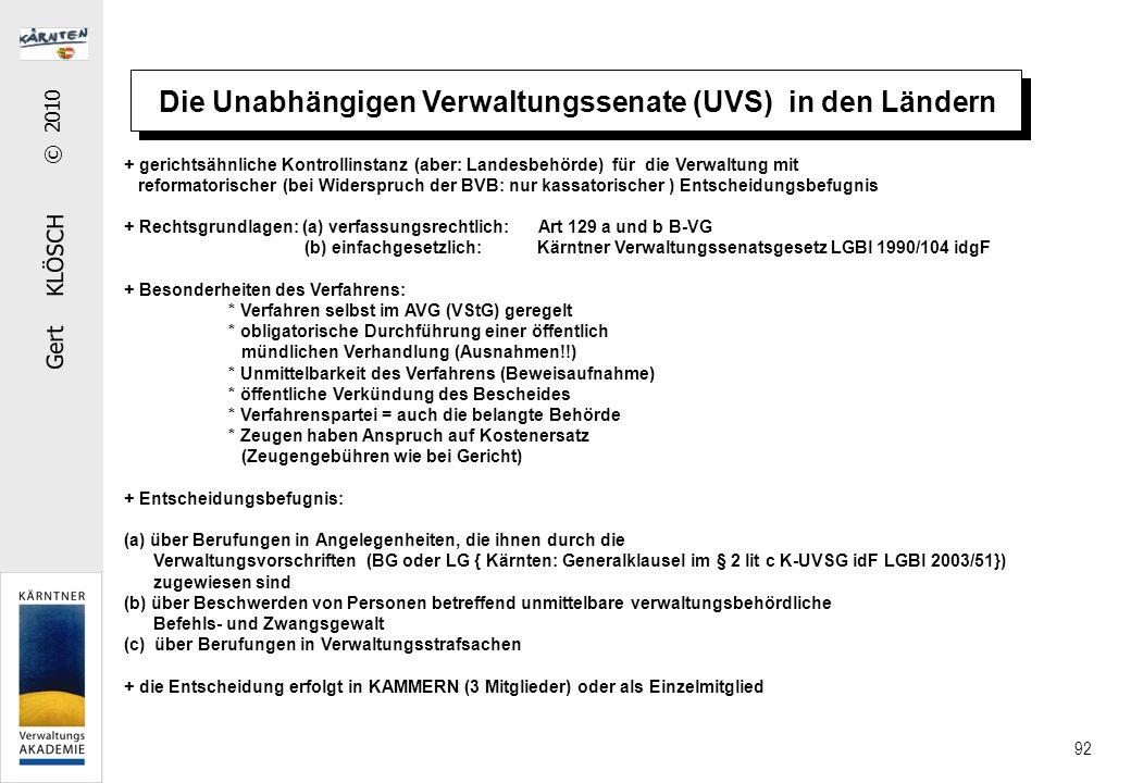 Verwaltungsstrafrecht im materiellen Vw-Recht
