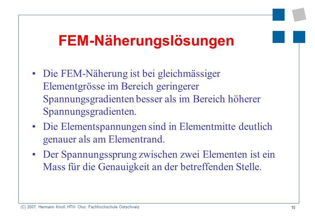FEM-Näherungslösungen