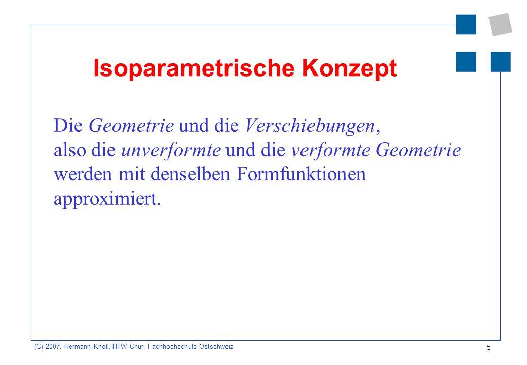 Isoparametrische Konzept