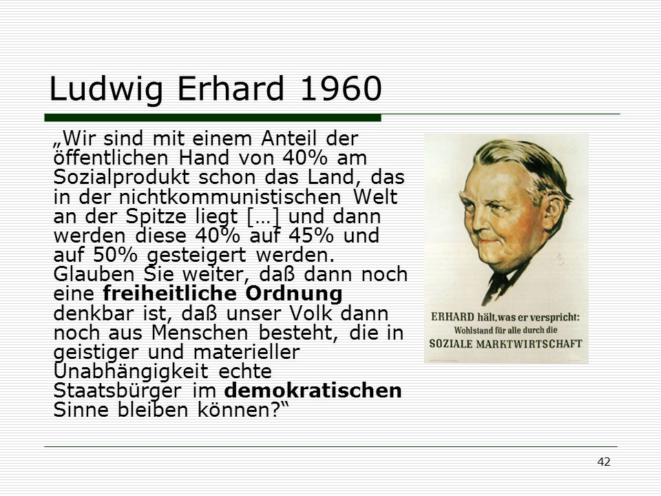 Ludwig Erhard 1960