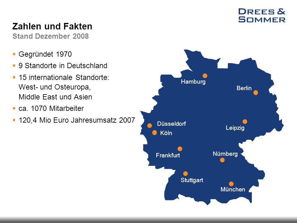 Zahlen und Fakten Stand Dezember 2008