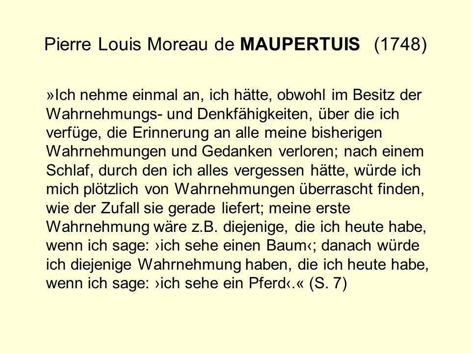 Pierre Louis Moreau de MAUPERTUIS (1748)
