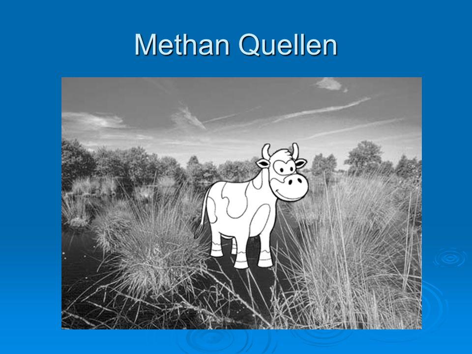 Methan Quellen
