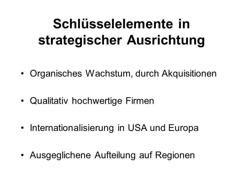Schlüsselelemente in strategischer Ausrichtung