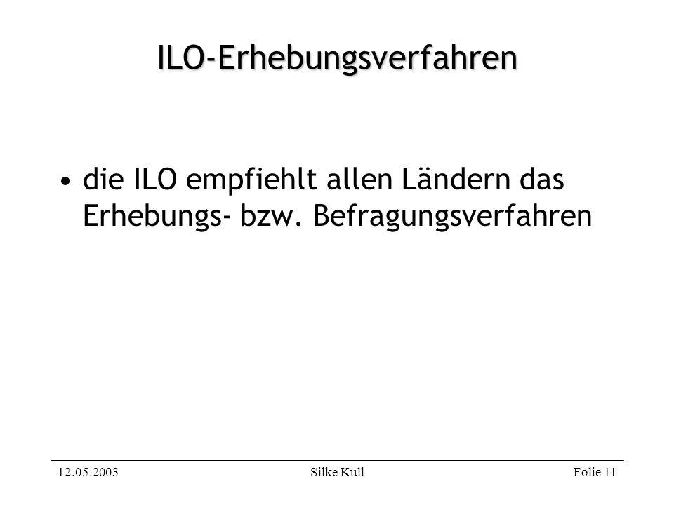 ILO-Erhebungsverfahren