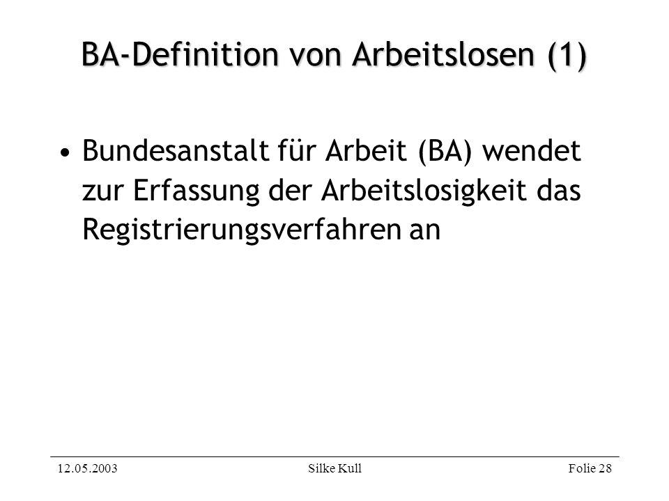 BA-Definition von Arbeitslosen (1)