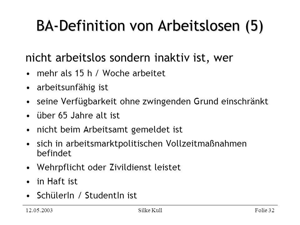 BA-Definition von Arbeitslosen (5)