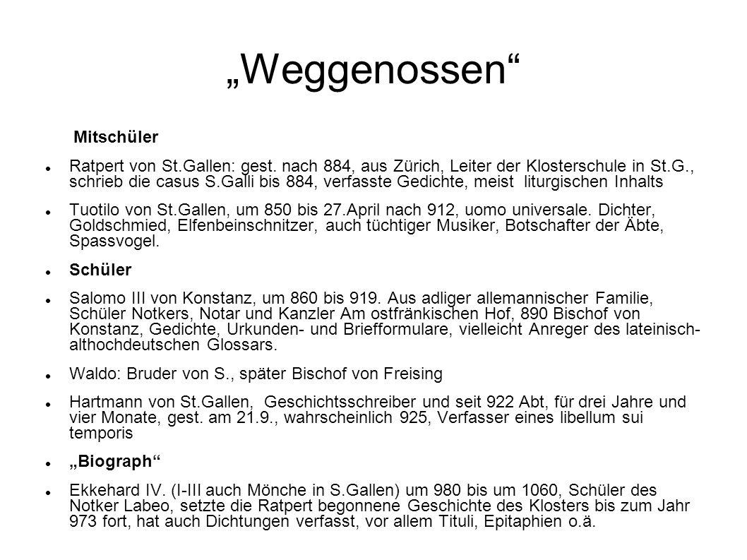 """Weggenossen Mitschüler"