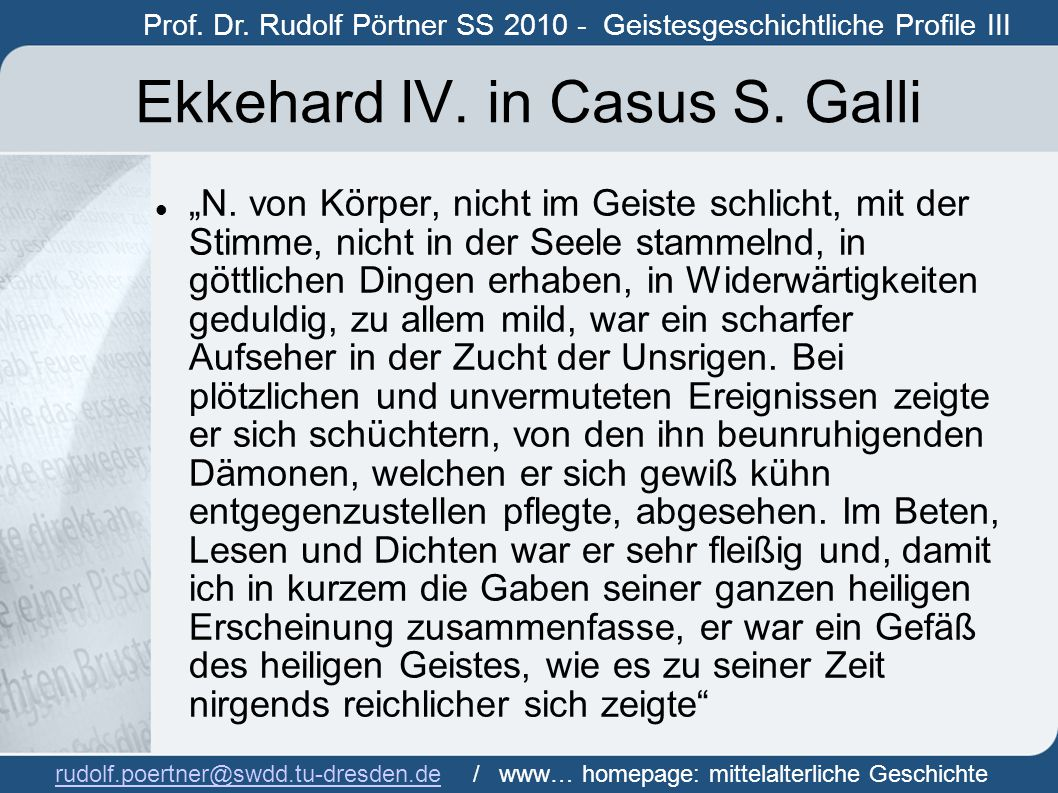 Ekkehard IV. in Casus S. Galli