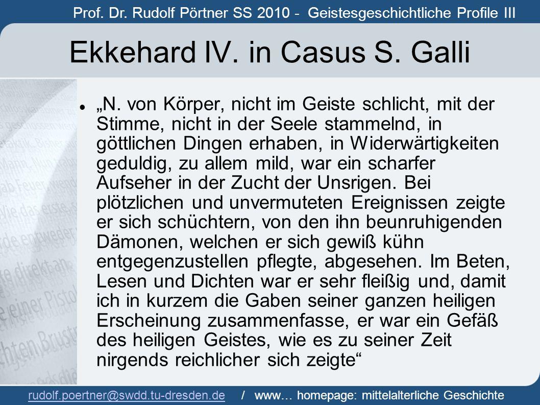 Ekkehard IV. in Casus S. Galli