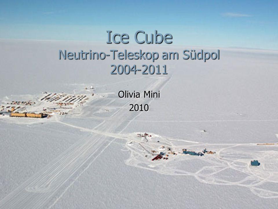 Ice Cube Neutrino-Teleskop am Südpol 2004-2011