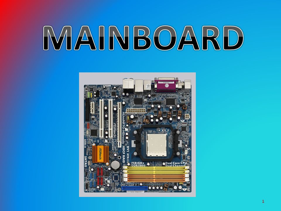 Mainboard Ppt Video Online Herunterladen