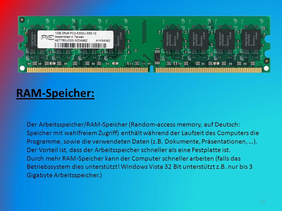RAM-Speicher: