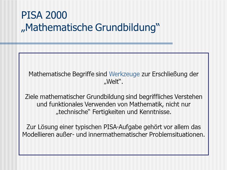 """Mathematische Begriffe sind Werkzeuge zur Erschließung der """"Welt ."""