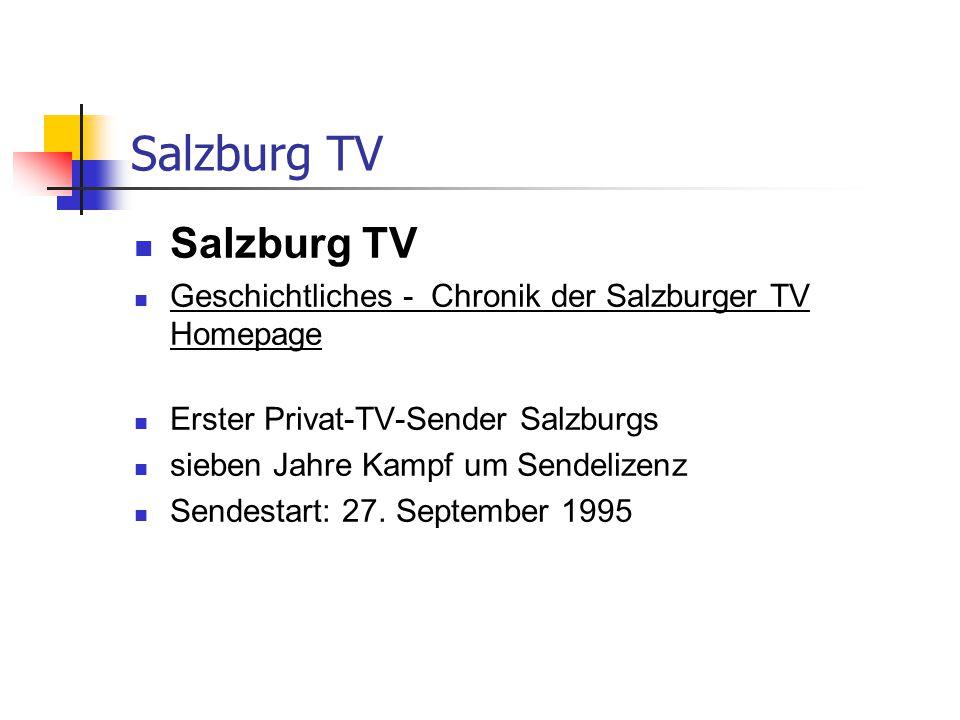 Salzburg TV Salzburg TV